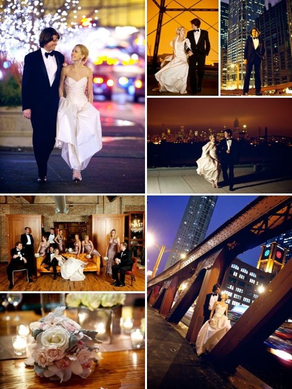 Chic Chicago Winter Wedding, @David Wittig
