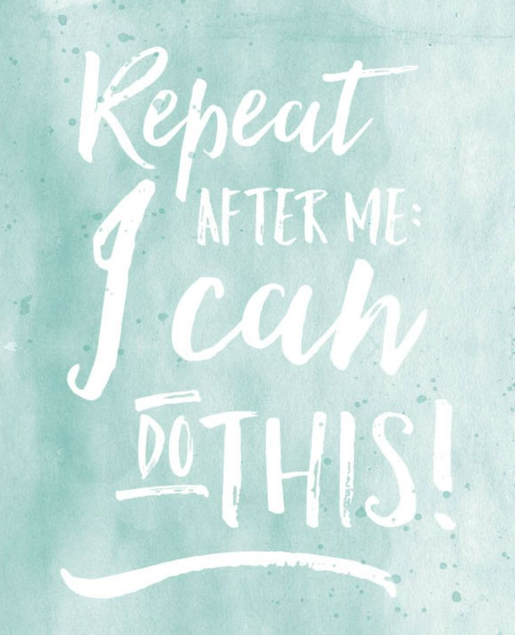Repeat after me: I can do this! | #FlairNL #FlairQuote Flairathome.nl
