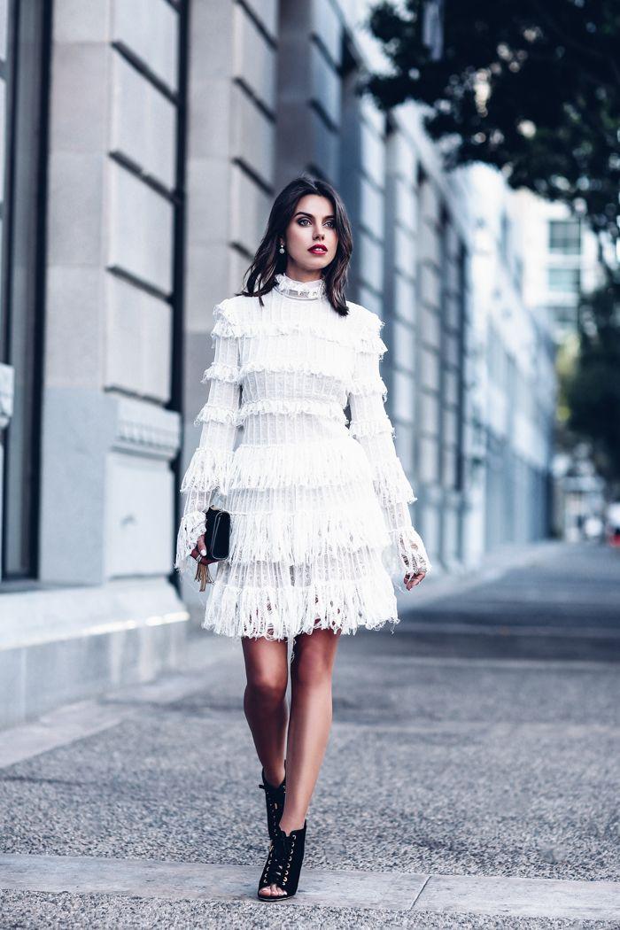 GOTHIC ROMANCE - Alexander McQueen lace dress & @jimmychooworld velvet booties