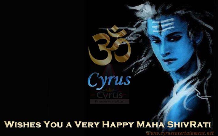 #Cyrus_Entertainment Wishing you a very #Happy #Maha_Shivaratri