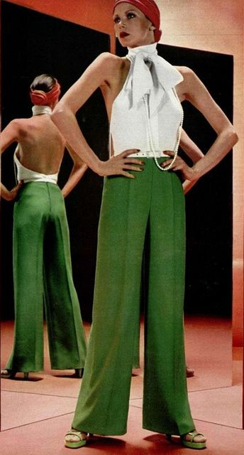 Pull from the lovely silhouettes of the 70's! Add colors that are in season and you will always have a timeless look.