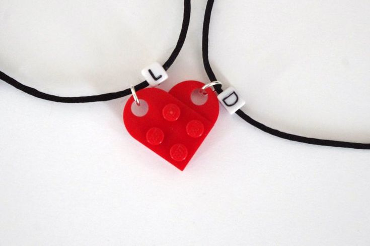 Our Lego Hearts Bracelets