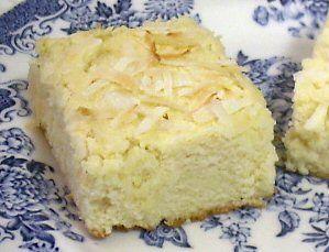 COCONUT CREAM-CHEESE SQUARES - Linda's Low Carb Menus & Recipes (Sub THM approved sweeteners like Truvia for Splenda)