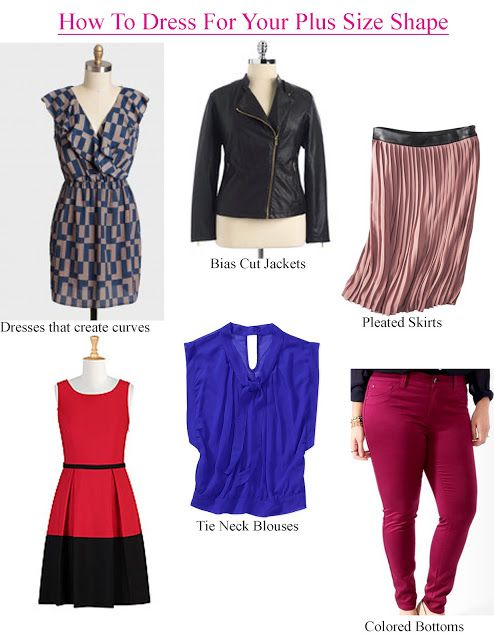 SHOPPING: HOW TO DRESS YOUR SHAPE WHEN YOU'RE PLUS SIZE (PART I)   Stylish…