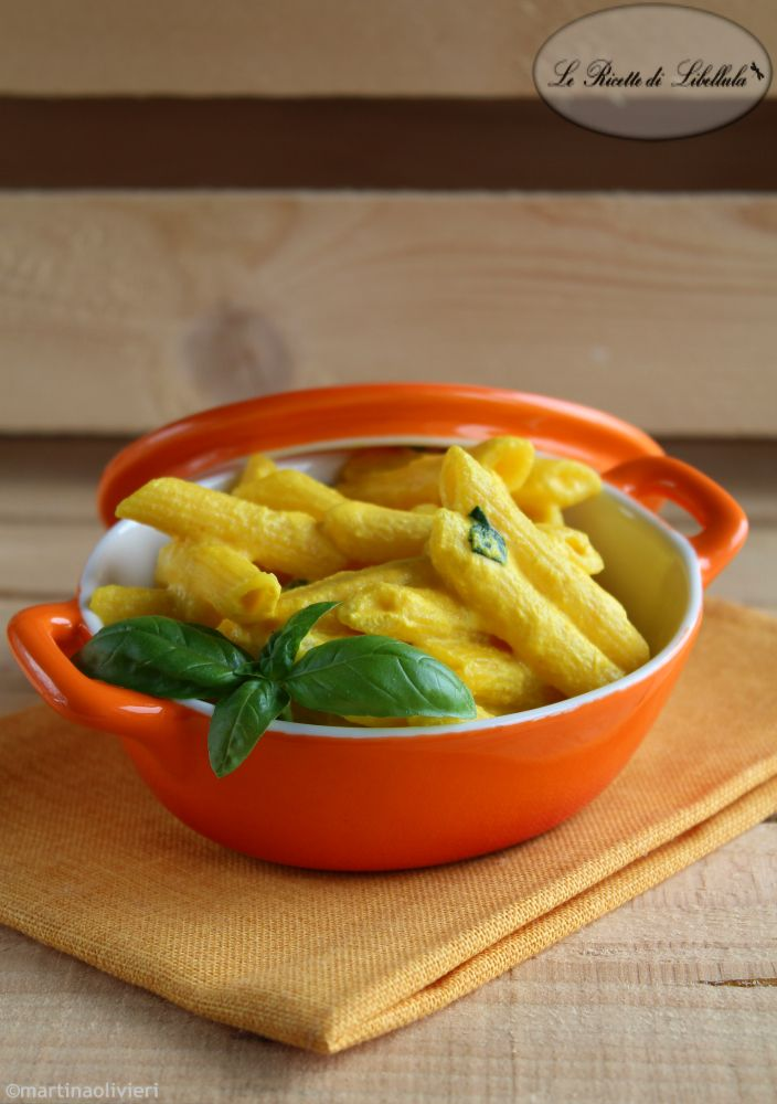 #Pasta con #ricotta e #zafferano #ricetta #foodporn #gialloblogs