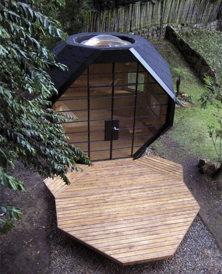 New home.Gardens Offices, Spaces, Tiny House, Favorite Places, Architecture, Gardens House, Design, Unusual House, Backyards