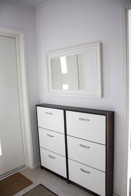 Kenkäsäilytys+peili