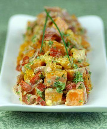 Roast Kumara Bacon Salad