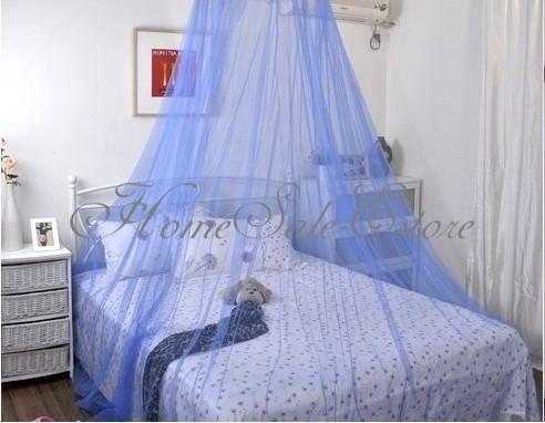 Tenda-Zanzariera-Da-Letto-Rete-Protezione-Insetti-Letto-Singolo-Matrimoniale