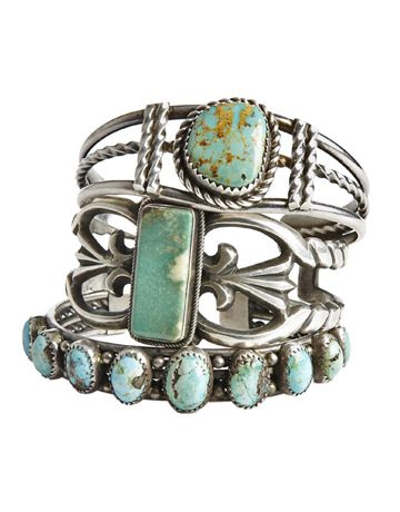 .: Turquoise Cuffs, Pretty Rings, Pretty Things, Jewelry Finding, Bracelets I, Turquoise Rings, Turquoise Jewelry, Turquoise Bracelets, Silver Rings
