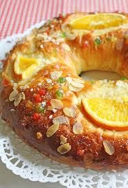 Resultado de imagen para https://www.pinterest.com recetas de rosca de reyes ala mantequilla rellenas