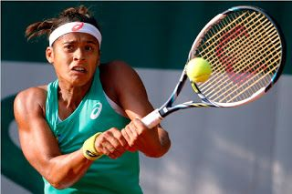 Blog Esportivo do Suíço:  Tentando voltar ao top 50, Teliana Pereira vence russa no ITF de Biarritz