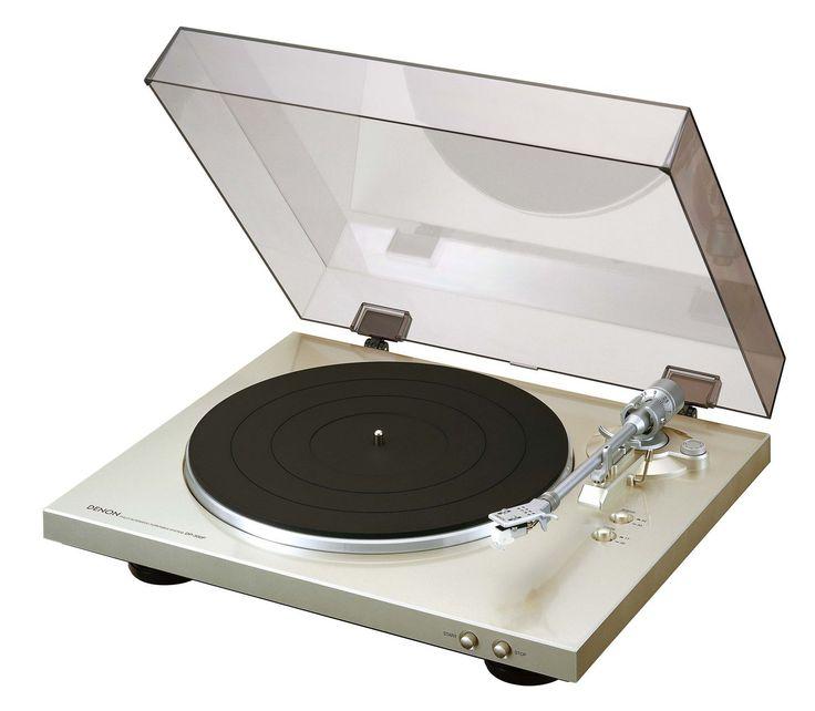 Denon DP-300F Vollautomatischer Plattenspieler (Riemenantrieb, integrierter Vorverstärker) premium silber: Amazon.de: Heimkino, TV & Video