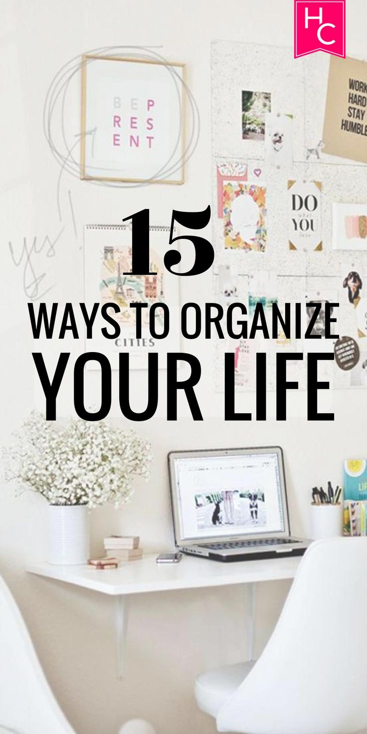 15 Ways to Organize Your Life This Year | http://www.hercampus.com/life/campus-life/15-ways-organize-your-life-year
