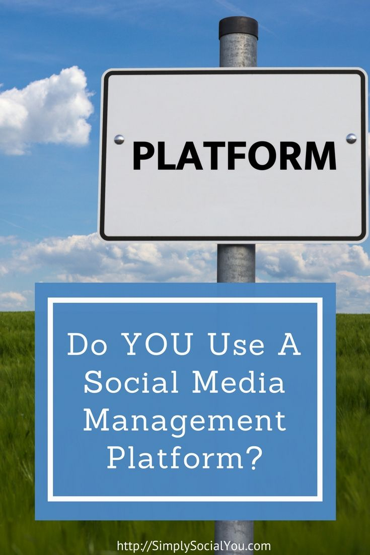 Do YOU Use a Social Media Management Platform? Check out my favorites in this post! | social media marketing | social media marketing platform | hootsuite | buffer | http://simplysocialyou.com/blog/social-media-management-platform/