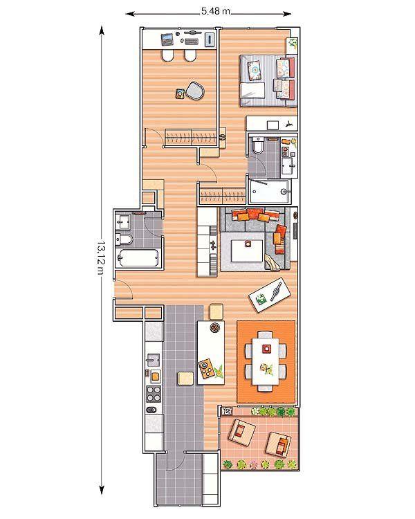 Floor Plans Images On Pinterest: 47 Best Images About Apartment Plans/Condo Plans On