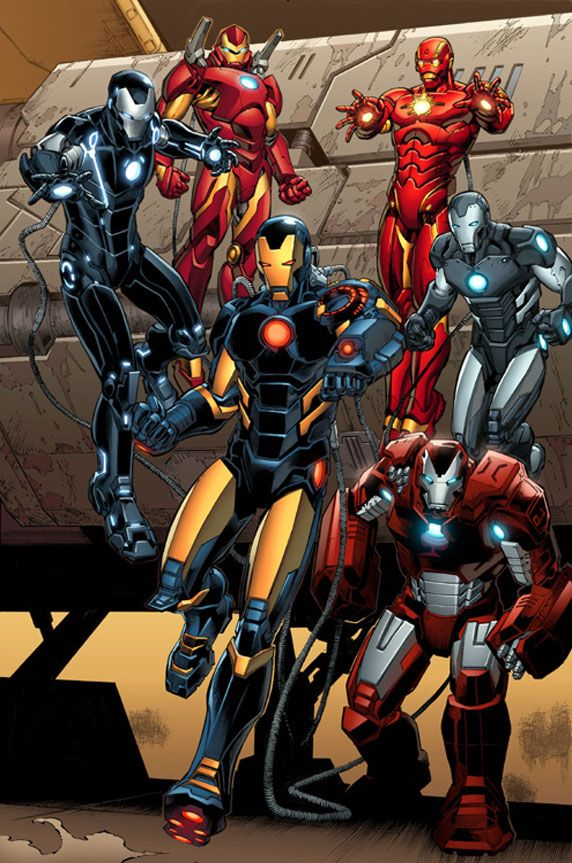 The Iron Legion, because Ivan Vanko kind of had a good point in using drones.