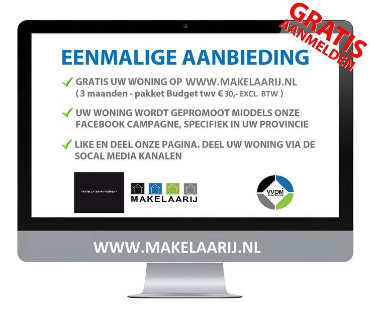 Actie voor:  www.makelaarij.nl
