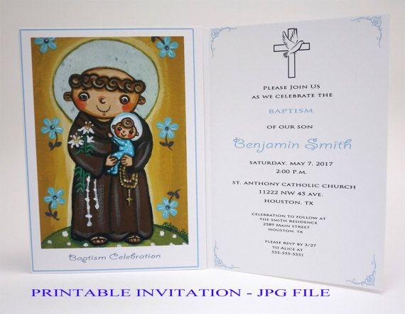 As 8 melhores imagens em girl christening invitation girl baptism boy baptism invitation boy saint anthony boy christening invitation boy baptism invites christening invites bautizo christening stopboris Images