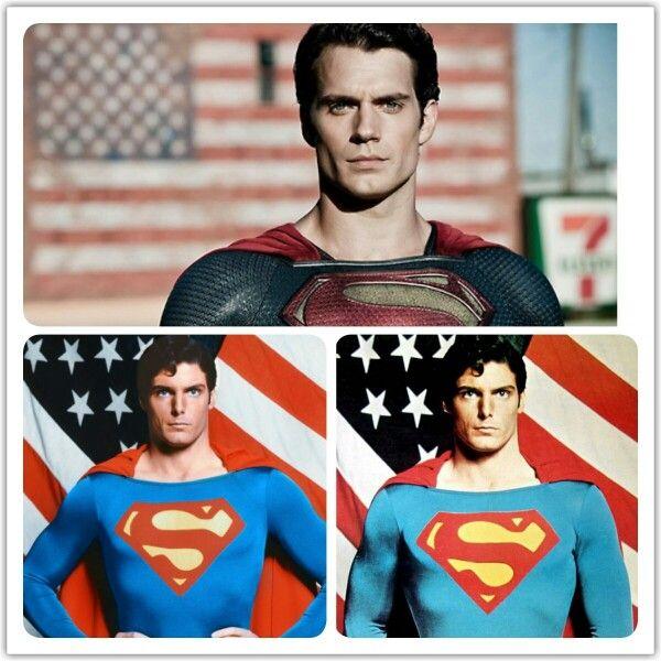 Henry cavill vs christopher reeve superman pinterest for Bureau 39 superman
