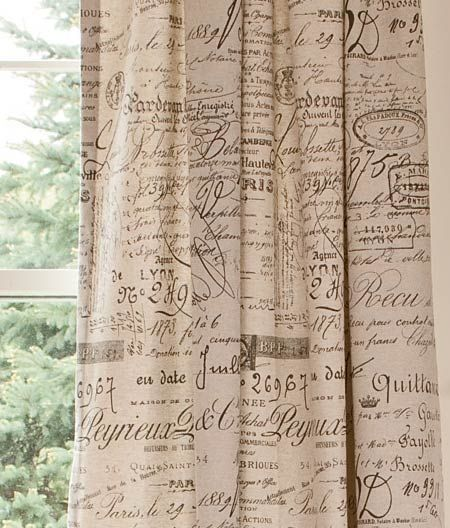 16 Best Images About Toile And French Script Fabrics On
