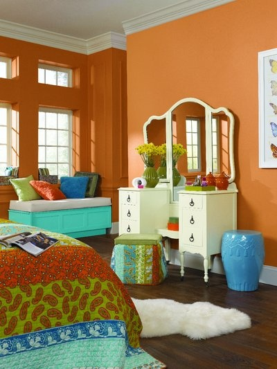 Free Spirited Kumquat Sw 6648 Dover White Sw 6385 Aquarium Sw 6767 Kids Rooms Paint