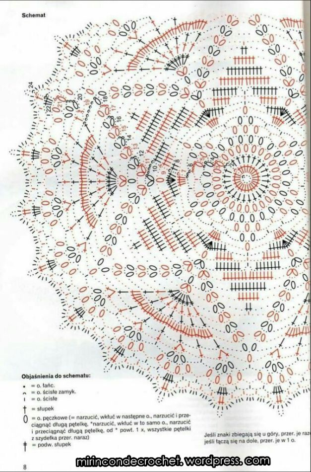 123 best mandalas images on Pinterest | Crochet patterns, Crochet ...