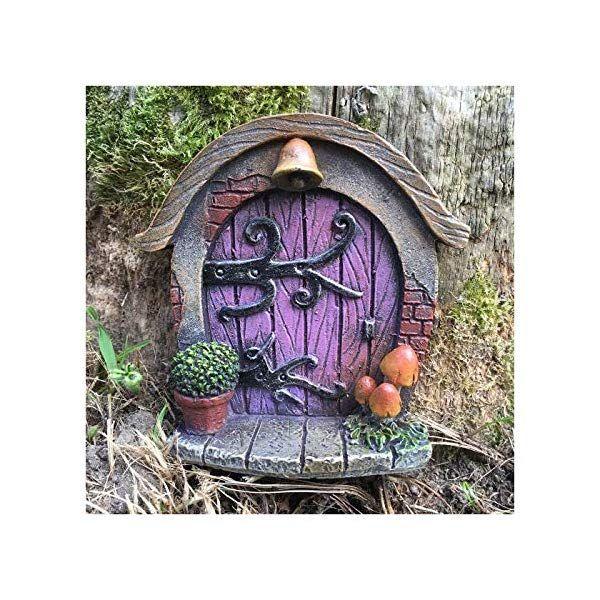 Porta in miniatura per folletti elfi e fate decorazione for Decorazione giardino per battesimo