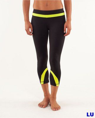 Lululemon Outlet Crops pants Green