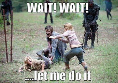 The Walking Dead S4 funny memes 4x14