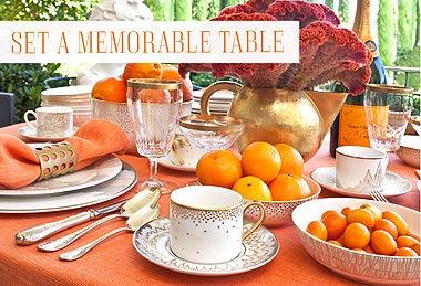Modern & Traditional ChinaTangerine Teakwood, Modern Traditional, Tables Sets, Tables Scapes, Parties Plans, Kelly Wearstler, Tables Ideas, Tables Decor, Memorize Tables