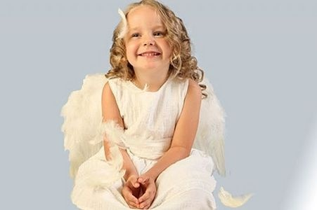 how to make an angel costume