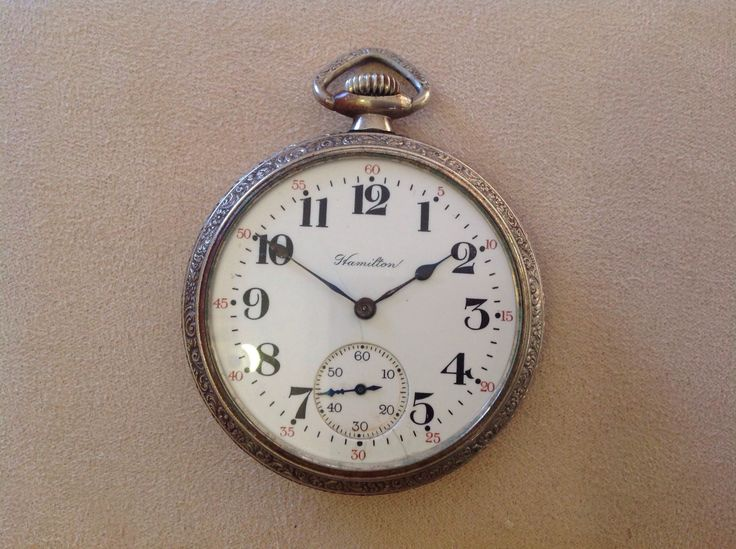 Hamilton Pocket Watch, Made in USA