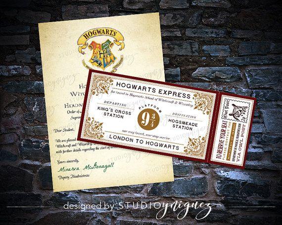 106 best HP - Acceptance Letter images on Pinterest Letter - hogwarts acceptance letter
