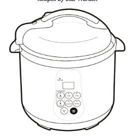 Cook's Essentials Electric Pressure Cooker 99700 & 99740