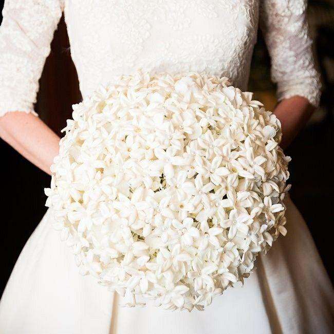 Posh Bride's Bouquet Of: White Stephanotis (Madagascar Jasmine)