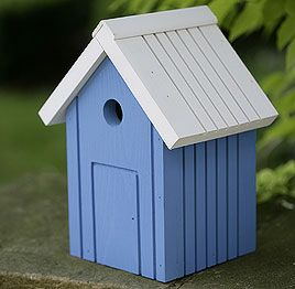 Beach Hut Bird Box