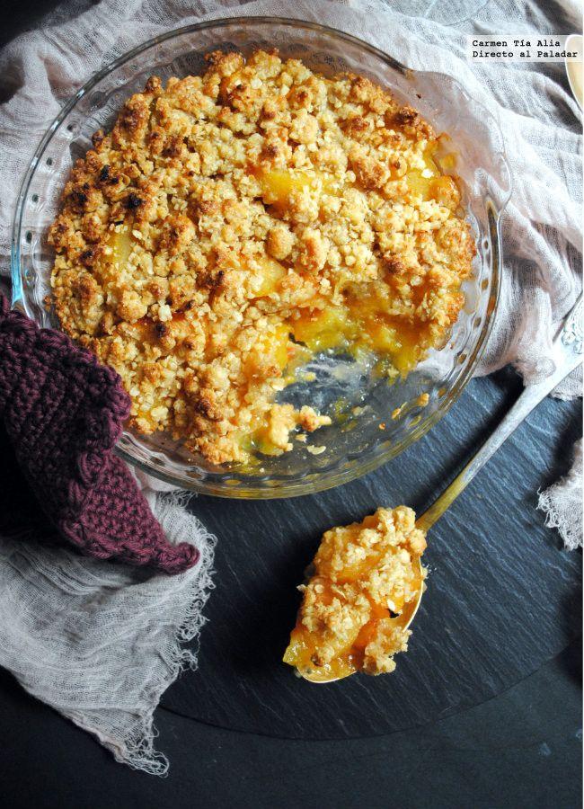 Los crumble son elaboraciones dulces de origen anglosajón que se han abierto paso en las cartas de postres de muchos restaurantes y cafés españoles en los úl...
