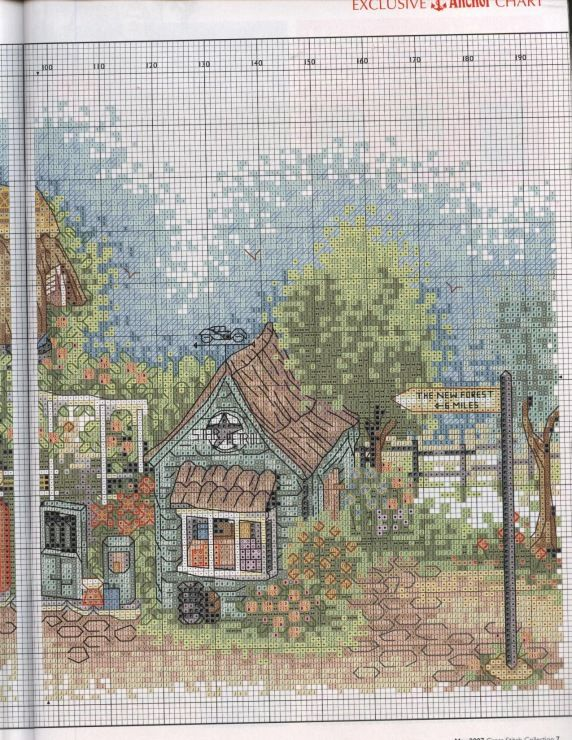 Gallery.ru / Фото #5 - Cross Stitch Collection 144 май 2007 - tymannost