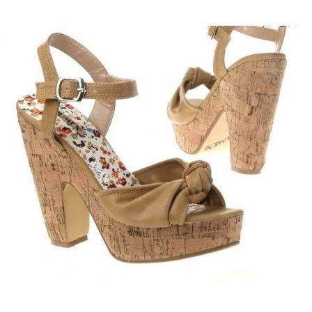 sandali alla moda colore beige fashionable be modni sandali alla manzara - Sandale Colore