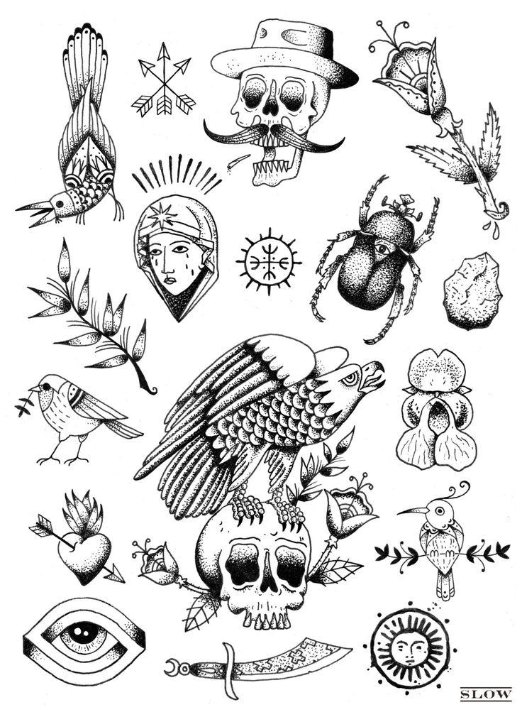 jack slow ink foto tattoo pinterest tattoo ideen. Black Bedroom Furniture Sets. Home Design Ideas