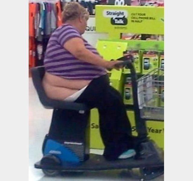 Meanwhile In Walmart-- ahhhgg! This is why I sanitize the cart before I let my kiddo touch it. Gag!