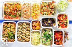 豪華に並ぶ色とりどりの料理たち。こちらはnozomiさんが作った1週間分の作り置きのおかずです。 節約したい方や、仕事帰りにゆっくり料理を作れない方は、時間に余裕がある休日に1週間分の常備菜を作っておくのがおすすめ!レシピサイト『つくおき』では、美味しい簡単レシピの紹介をはじめ、ムリなく続けられる週末作り置きのコツなどを紹介してくれています。                                                                                                                                                                                 もっと見る