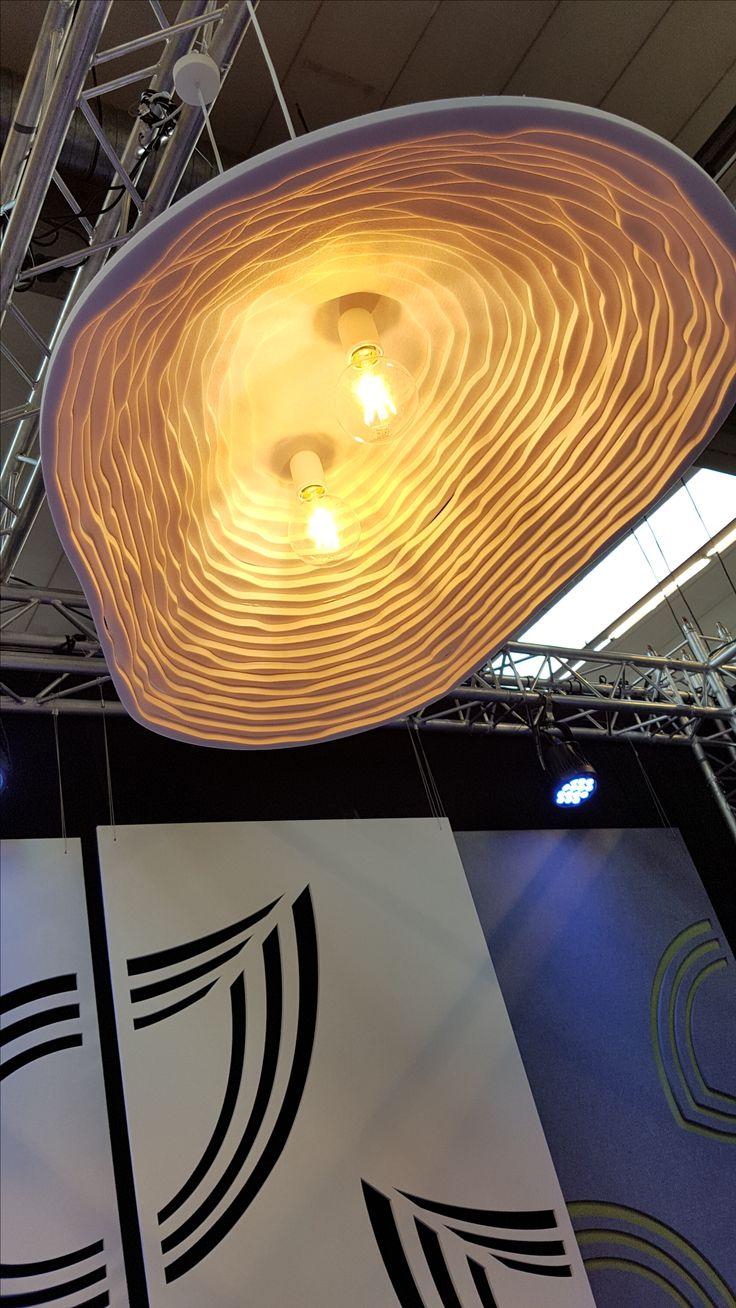 Kirei echopanel geometric tiles building for health - Akoestische Verlichting Op Basis Van Echopanel