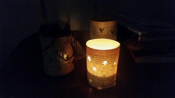 Book lanterns