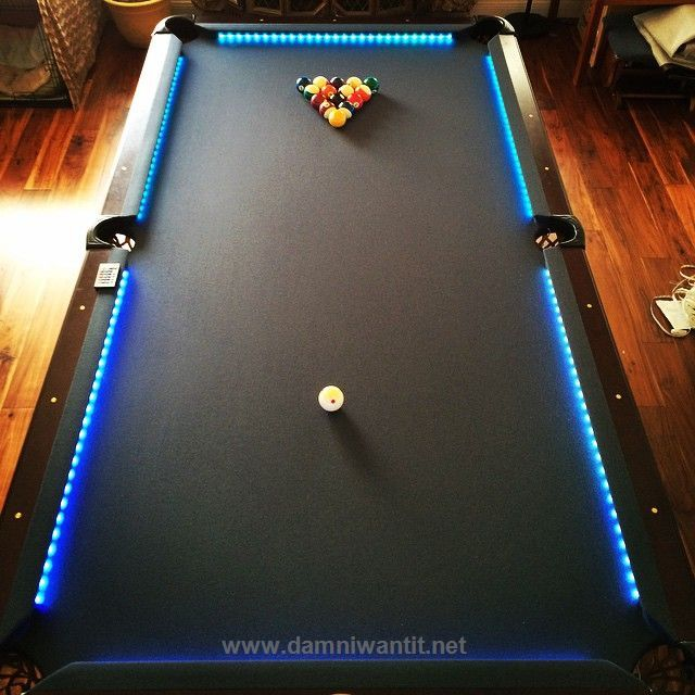 Pool Table Light Projector: 34 Best Modern Pool Tables Images On Pinterest