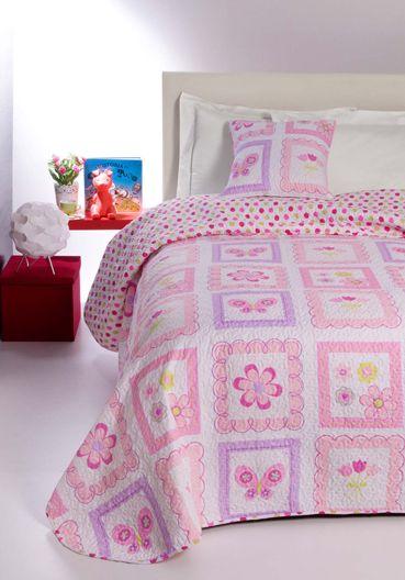 7725 Violette 100% cottonfeeling microfiber quilt 180x270+1(50x50)