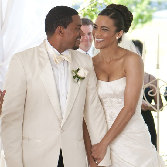 Paula Patton's updo is beautiful in the movie Jumping the Broom #bride #wedding