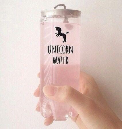 pink, pale, unicorn water, unicorn, unicórnio