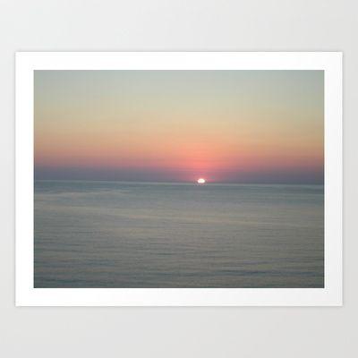 Sunrise Art Print by alkinoos